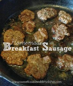 You know those memories that are forever connected to an item or site? Every time I think of sausage I remember my sister Amy dipping sausages in pancake syrup one time when we were at McDonald's a...