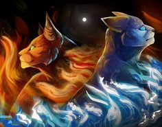 Firestar and Bluestar