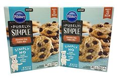 Pillsbury Purely Simple Chocolate Chip Cookie Mix Pack of 2 -- Learn more by visiting the image link. (This is an affiliate link) Chocolate Chip Cookie Mix, Baking Supplies, Pillsbury, Baking Ingredients, Oatmeal, Chips, Image Link, Trees, Cooking Recipes