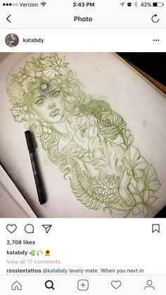 Neo Traditional Tattoo, I Tattoo, Tattoos For Women, Amazing Art, Hand Lettering, Tatting, Body Art, How To Draw Hands, Drawings
