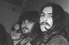 "worshipinginthechurchofgeorge:  ""Bonnie and Delaney Bramblett and George Harrison 1969  """