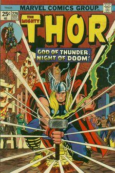 Cover for Thor (Marvel, November Comics Uk, Marvel Comics Superheroes, Marvel Comic Books, Marvel Heroes, Comic Books Art, Comic Art, Book Art, Comic Poster, Marvel Art