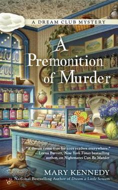 A Premonition of Murder by Mary Kennedy is the third book in A Dream Club Mystery series.  Check out my review of this new cozy mystery!  http://bibliophileandavidreader.blogspot.com/2016/06/a-premonition-of-murder.html