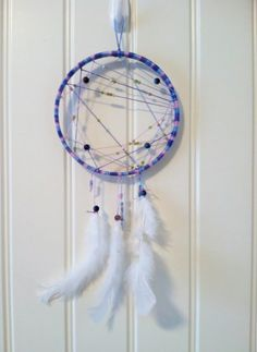 Dream catcher I made for my mother-in-law in her favorite colors My Friend, Friends, Favorite Color, Dream Catcher, Law, Colors, Creative, Amigos, Dreamcatchers