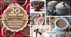 20 Decadent and Nutrient Dense Chocolate Recipes