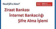 Ziraat Bankası internet şubesi şifre alma | idpsbanka.org