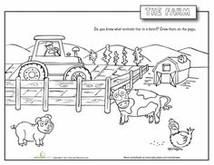 Farm Animals are important source of food for us,it give