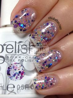 Gelish Trends - Looking Glass - Summer 2014