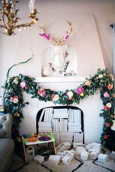 colorful christmas decor