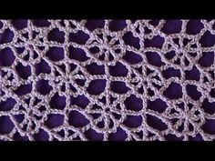 Ажурный узор Паутинка - Lace pattern Cobweb - YouTube