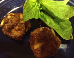 Beef Liver and Onion Meatballs