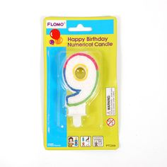 #9 Birthday Candle Case Pack 36