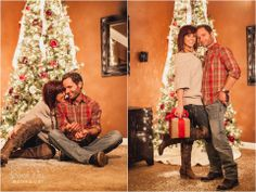 Super cute couple Christmas photo shoot!!!! Jessica Rai Photography, Jessica McIntosh, Katie and Bevan, Christmas Photos, Real Christmas Photos, Christmas at home, Christmas in Nashville, Tennessee Christmas Images, Fun Christmas Images, Winter Images