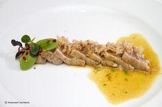 Ventresca De Atún Con Vinagreta De Mijo, Naranja y Hueva De Maruca. Recipes, recetas, gastronomía, gastronomy, food...