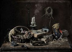 Где живут старые сказки…© Елена_Романова #Still #Life #Photography