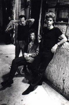 Goldis -Jim Jarmusch, Klaus Nomi, Christopher Parker  Bowery 1978