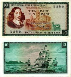 Mercantes de vela holandeses, África del Sur Table Mountain Cape Town, Sell Coins, Money Notes, Nostalgic Images, Learning Websites, Coins For Sale, Old Signs, Historical Pictures, African History
