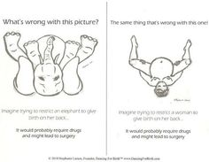 """The Doula Guide: Dance to Prevent Babies from """"Getting Stuck"""" during Birth Birth Doula, Baby Birth, Baby Baby, Ina May Gaskin, Pregnancy Labor, Childbirth Education, Natural Birth, Midwifery, Breastfeeding"""