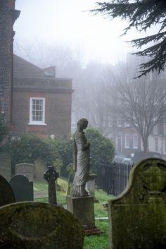 Hampstead Parish Burial Ground, London, England by bautisterias