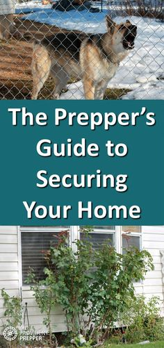 The Prepper's Guide to Securing Your Home – The Provident Prepper Best Security System, Home Security Tips, Security Cameras For Home, Home Security Systems, Security Window Film, Security Door, Security Alarm, Camping Survival, Emergency Preparedness
