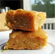Snickerdoodle butterscotch Blondies