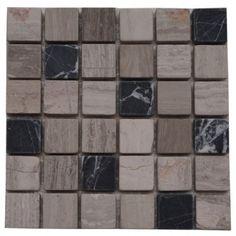 Marmersoort: Grey Wood, Modern Black  Kleur: Zwart / grijs / beige ...