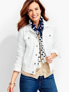 9dfd1d19cf1399 Talbots - The Classic Denim Jacket
