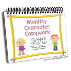 Daily Scripture Copywork Calendar for November - My Joy-Filled Life