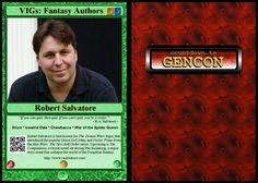#2 VIGs: Fantasy Authors: Robert Salvatore