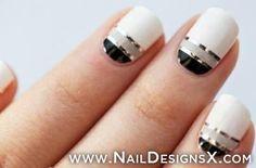 lines 4 nail art