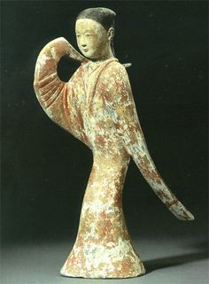 Han Dynasty Lady Dancer : Source: Fine Chinese ceramics, Bronzes and works of art, Christie