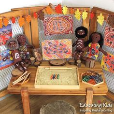 Aboriginal Dreamtime stories are a learning pathway to build our knowledge and understanding of Aboriginal Australia. Aboriginal Art For Kids, Aboriginal Symbols, Aboriginal Dreamtime, Aboriginal Education, Indigenous Education, Aboriginal History, Aboriginal Culture, Indigenous Art, Childcare Rooms