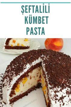 Şeftalili KÜMBET Pasta Lunch, Cake, Ethnic Recipes, Desserts, Food, Recipes, Pie Cake, Tailgate Desserts, Pie