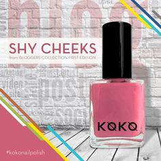 "Color your mood, enlighten your day with ""Shy Cheeks"" from Koko Nails Bloggers Collection First Edition from the blog ""ShyCheeeks"" by #saimaqais  #kokonailpolish  #polish #dubai #mydubai #dxbconnect #saudi_trends Trends of SAUDI #UAE #dubainails #dubaiexpo2020ambassadors #Emirates #instagram #aboutdubai #instafashion #instagood #instanail #koko #kokonail Dubai Expo 2020 #dubaiexpo2020 Dubai Expo Dubai 2020 , U.A.E #kuwait"