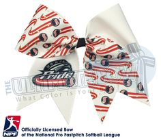 Proudly wear your USSSA Pride - Official Rhinestone Logo Bow and show your support for your favorite National Pro Fastpitch Softball Team!  Are you a Junior USSSA Pride Team, we are the only place to get the Official Pride Logo on your bows, contact us today or place your order online!