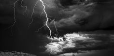 Lightning over southern Canberra - frame from IR Epic-X footage