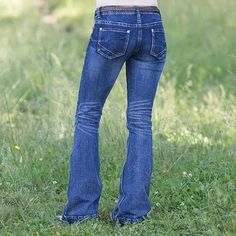Saddle up in the Rock & Roll Cowgirl Texas Honey Trouser Jean this fall