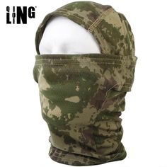 Tactical Quick-drying Hood Full Face Mask Balaclava Camouflage Hunting Masks Hat Outdoor Windproof Hiking Cycling Warm Scarf