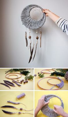 DIY your photo charms, 100% compatible with Pandora bracelets. Make your gifts special. DIY Project Ideas & Tutorials: How to Make a Dream Catcher of Your Own