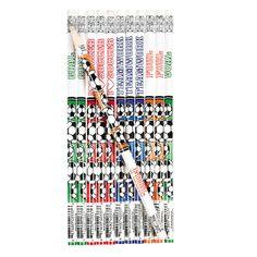 Soccer Pencils - OrientalTrading.com