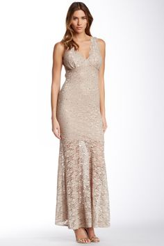 Jump Lace Gown by JUMP on @HauteLook