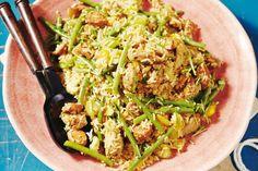 19 januari - Sperziebonen in de bonus - Een vrolijke mix van rijst, groenten en vlees uit de zuidelijke staten van Amerika - Recept - Allerhande