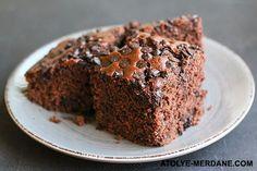 Atölye-Merdane: Ekşi Mayalı Çikolatalı Kek / Sourdough Chocalate Cake