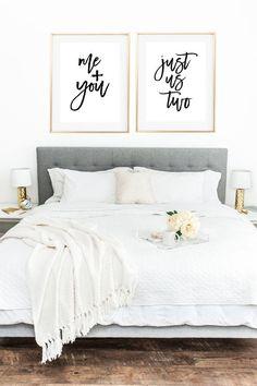 Love Print Couple Print Couple Bedroom Romantic by MyPrettyPrint