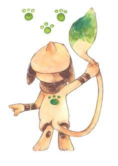「ポケモンログ4」/「主らぎ」の漫画 [pixiv] #Smeargle