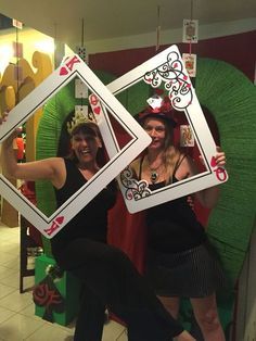 """My own props: red queen """"unbirthday """" photo booth"""