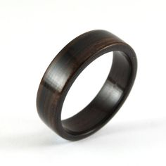I love the idea of a wooden ring for the groom.