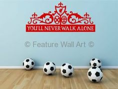 Liverpool Football Club Graphic - Wall Art Vinyl Stickers Decal