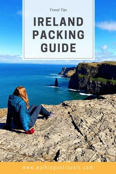 IRELAND PACKING GUIDE: what to pack for a trip to Ireland from shoes to colors to clothing you bring to Ireland when planning a trip to Ireland. #travel #ireland #europe