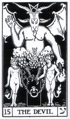The Devil - Builders of the Adytum Tarot (B.O.T.A. Tarot)
